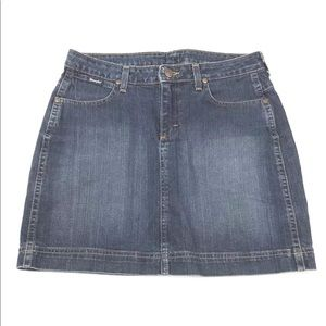Wrangler Women's jr size 11M Jean skirt mini